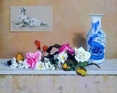 Cuadros de Flores Blancas, Fernando López, España | Imágenes Arte Temático