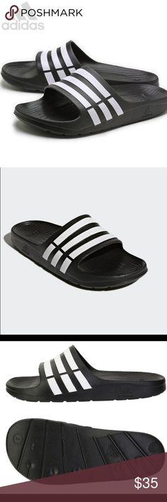 0388293e2f6a9 NWT Adidas Duramo Slide Sandals Flip Flop Slipper Adidas Duramo Slide Sandals  Flip Flop Slipper Brand