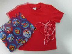 Tutorial Telaspedro.com - Cómo decorar una camiseta con tela