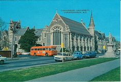 Christchurch New Zealand, Back In Time, Public Transport, Homeland, Buses, Old Photos, Exterior, Urban, Historia