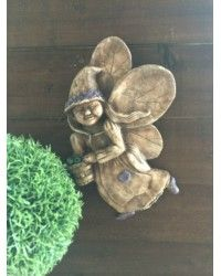 Apple Fairy Wall Hanging Plaque