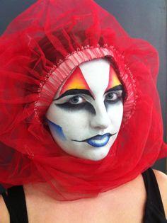Tiffany Dean Makeup Artist - Cirque du Soleil by BabyGirlFallenAngel.deviantart.com on @deviantART