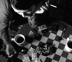 coffee & cigarettes ~ a film circa 2003  ~ directed by Jim Jarmusch ~ set decoration by Rena DeAngelo