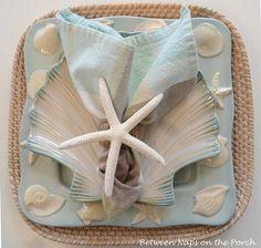 Make a Starfish Napkin Ring: A Pottery Barn Knock-off