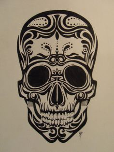 Maori Skull by ~MKRDESIGNS on deviantART