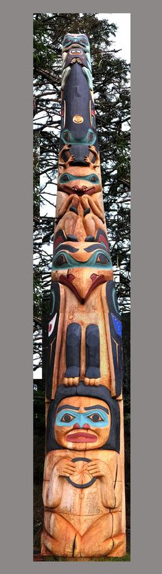 75 Best Great Rabbit Totem Pole Images In 2017 Native American