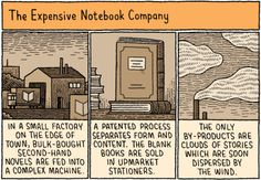 For more criticism, contention, and conversation about books and the writing life, turn to Page Turner.  Illustration by Tom Gauld