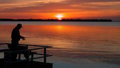 Fishing on Grand Lake St. Marys in Celina Ohio Celina Ohio, Places To See, Places Ive Been, Grand Lake, Wander, Fishing, Sunset, Reading, Books