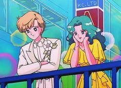 Haruka tenoh (Sailor Uranus) and Michiru Kaioh (Sailor Neptune)