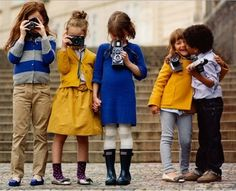 I hope one day my child and her/his friends color coordinate when they hang out.
