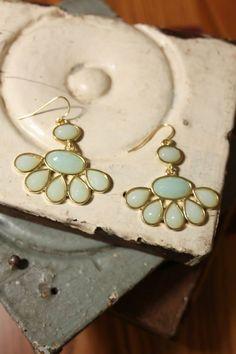 NEW WEB ARRIVAL!!  Teardrop Chandelier Earrings, $10  Purchase here > http://www.shoppage6.com/products/teardrop-chandelier-earrings