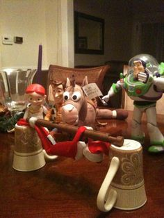 Elf on the Shelf Idea (captured!)