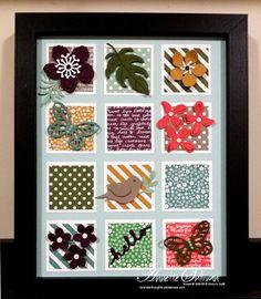 Lavender Thoughts | Annette Sullivan | Stampin' Up! Botanical Blooms 8x10 Display
