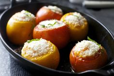 rice-stuffed tomatoes (see note re adding Yukon potatoes) | Smitten Kitchn
