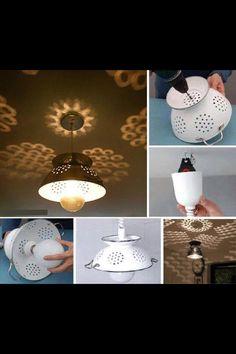 DIY lamp shade for nursery!!!