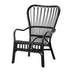 STORSELE Armchair IKEA - Black Rattan Chair - See how we plan to use it at the Granada House, we can't wait to get this chair in our space. Ikea for the win! Check out our plans for the Granada house at Hello Good Design. Chaise Ikea, Rattan Armchair, Rattan Furniture, Home Furniture, Black Outdoor Furniture, Rattan Chairs, Furniture Buyers, Eames Chairs, Chair Cushions
