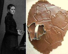 Beatrix Potter's reciper for  Gingerbread Cookies.