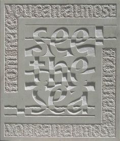 Jennifer Tetlow - Stone Sculpture Journal: Heavens Above Stone Sculpture, Sculpture Clay, Art Sculptures, Lettering Design, Hand Lettering, Ancient Scripts, Stone Masonry, Letter Art, Stone Carving