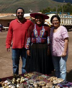 Artesana de Raqchi. Perú