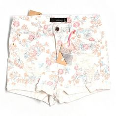 COMING SOON - TALLY WEIJL Ripped Floral Shorts These super cute shorts are from a brand exclusive to France and come BRAND NEW WITH TAGS! TALLY WEIJL Shorts Jean Shorts
