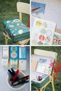 valise à customiser pour petits mots