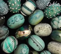 DSG Beads Handmade Organic Lampwork Glass Made by debbiesanders,