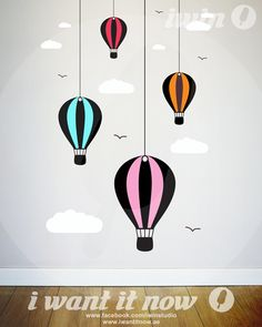 Hot Air Balloons – i want it now