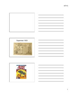 Superheroes of the (Content Presentation) Great Depression, Man O, American History, Wwii, 1930s, Superman, Presentation, Content, Cards