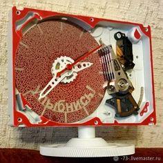 Часы для дома ручной работы. Заказать Часы 'Улыбнись!'. sand (-73-). Ярмарка Мастеров. Подарок, подарок мужчине Hdd, Clock, Watch, Clocks