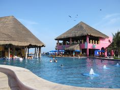 Costa Maya Cruise Port. Loved swimming in this pool!!!!
