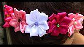 Flor de Fitas de Cetim Passo a Passo -satin ribbon rose ,Rose Tutorial, DIY…
