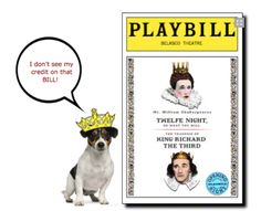 Dog's Bows Wow When Jack Russell Upstages Richard III