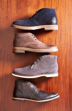 Wolverine  Francisco  Chukka Boot (Men) available at - black mens shoes  sale 9dd1bc505