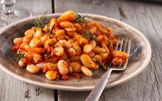 Η πιο νόστιμη συνταγή για γίγαντες στον φούρνο! Mezze, Greek Recipes, Kitchen Hacks, Chana Masala, Shrimp, Main Dishes, Vegan, Vegetables, Ethnic Recipes