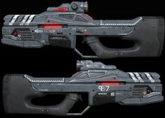 ArtStation - Laser assault rifle, Chris 807