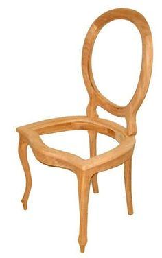cadeira medalhão palhinha no assento e encosto mercado ideia