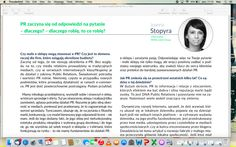 an interview with Joanna Stopyra about PR activity for e-commerce