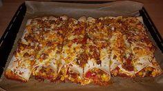 Mexikanische Burritos, ein sehr schönes Rezept aus der Kategorie Gemüse. Bewertungen: 129. Durchschnitt: Ø 4,5.