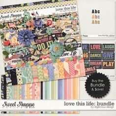 Love this Life Bundle by Digilicious Design