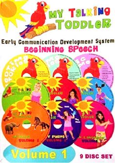 My Talking Toddler Beginning Speech Vol 1 NEW 6 DVD 3 CD MSRP $190+ FREE SHIP US