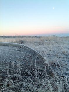 Frostig höstmorgon
