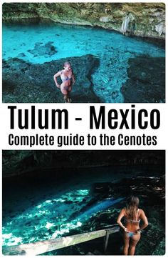 Complete guide to The Cenotes in Mexico. Both kids and adults will love swimming in the underwater caves!