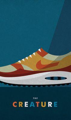 the Design Office of Matt Stevens - Direction + Design + Illustration — Nike Sportswear x Matt Stevens