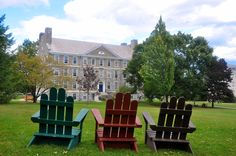Middlebury College Adirondack Chairs, Outdoor Chairs, Outdoor Decor, Middlebury College, Night Terror, Childhood Friends, Colleges, Vermont, New England