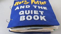 julies blog: Harry Potter And The Quiet Book - she also has star trek and jedi! So cool.