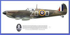 Supermarine Spitfire Mk Ia Battle of Britain 1940 @Mark Styling