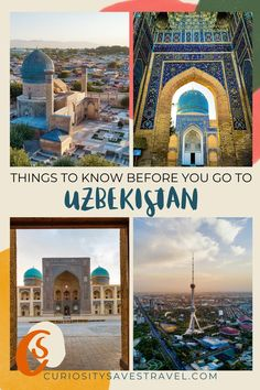 65 top travel tips will help you plan an amazing trip to Uzbekistan. Everything you need to know before traveling to Uzbekistan includes some myth-busting information so you are up to date and ready to explore the beautiful country of Uzbekistan. Learn about food, culture, visas, transportation, and accommodation in this Silk Road country. I Uzbekistan tips I tips for Uzbekistan I Central Asia travel tips I what to know about Uzbekistan travel I #uzbekistan #silkroad #centralasia #traveltips Top Travel Destinations, Europe Travel Tips, Asia Travel, Travel Usa, Travel Guides, Travel Advise, International Travel Tips, The Beautiful Country, Worldwide Travel