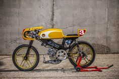 XTP Repo's 'PTT' Mobylette SP90 Cafe Racer