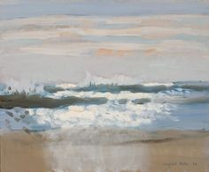 Fairfield Porter, The Beach At Noon, 1972