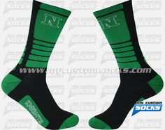 Elite Style socks designed by My Custom Socks for Nordonia Hills City Schools in Macedonia, Ohio. Multisport socks made with Coolmax fabric. #Multisport custom socks - free quote! ////// Calcetas estilo Elite diseñadas por My Custom Socks para Nordonia Hills City Schools in Macedonia, Ohio. Calcetas para Multideporte hechas con tela Coolmax. #Multideporte calcetas personalizadas - cotización gratis! www.mycustomsocks.com